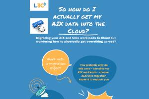 AIX data into Cloud